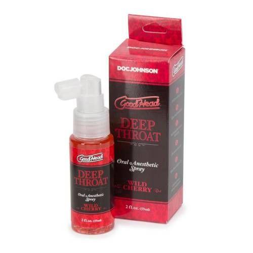 Doc Johnson Good Head Deep Throat Cherry Oral Anesthetic Spray