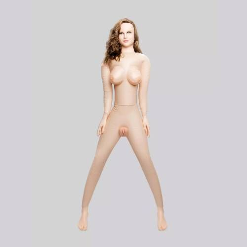 Horny Quella Realistic Vagina and Ass Vibrating Inflatable Sex Doll